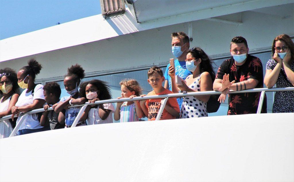 ferry, ship, passenger