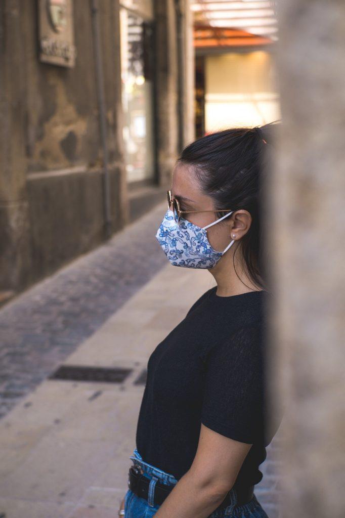 girl, mask, face mask