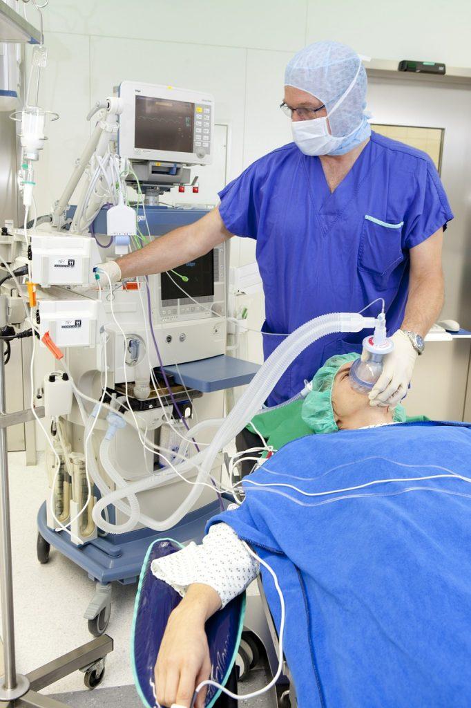 operation, respiratory mask, anesthesia